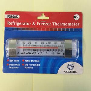 Comark FG80AK Fridge//freezer Thermometer