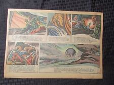 1952 FLASH GORDON Color Newspaper Strips by Mac Raboy LOT of 8 VG 8/17 - 10/5