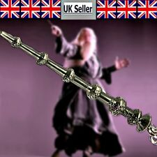 Harry Potter Dumbledor Collectible Magical Elder Wand Pendant & Chain UK Seller