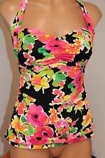 New Ralph Lauren Swimsuit Tankini Top Sz 12 Halter
