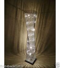 Modern elegant,  Silver Floor standing aluminium cayan tower LED lamp 150cm,