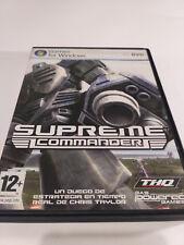 Supreme Comander Pc Dvd Rom THQ