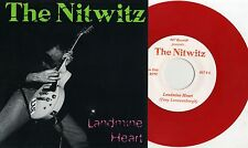 "Nitwitz - Landmine Heart 7"" RED VINYL B.G.K. Hydromatics Holland Dutch Punk KBD"
