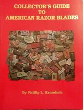 ANTIQUE RAZOR BLADE ID VALUE GUIDE REFERENCE GUIDE BOOK Ever- Ready Marlin Bic++