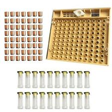 120pcs Bee Cell Cups Queen Rearing System Beekeeping Tool Cultivating Box  NIGH
