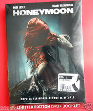 film limited edition dvd + booklet,honeymoon movie rose leslie harry treadaway v