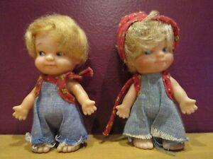 "8/"" Darice Antique Beige Tan Muslin Bumpkins Amish Craft Fabric Doll"