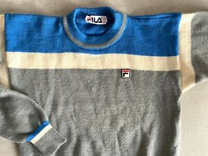 SWEATER maglione FILA made in italy tg small vintage 80