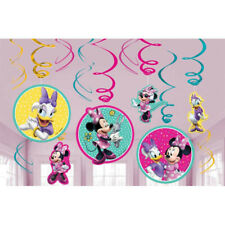 Minnie Mouse Hanging Swirl Decoration Girls Birthday Supplies ~ Happy Helpers 12