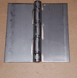.120 Stainless Steel Butt Hinge 4 x 4 Heavy Duty Door/Cabinet/Boat/Weld On/1102