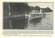 1906 The German Emperor Opening The Teltow Canal