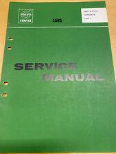 Volvo Service Manual Overdrive Typ J -  P120 Amazon P1800