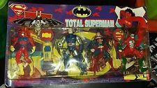 superman bootleg JLA action figure set the flash green lantern darkseid