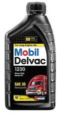 MOBIL 101192 Diesel Engine Oil, 1 qt