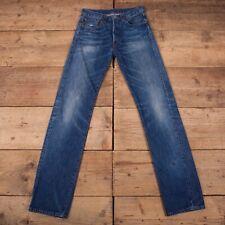 "Womens Vintage Levis Red Tab 501 BIG E Blue Selvedge LVC Jeans 28"" x 34"" R16797"