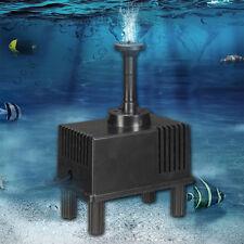 Pompe à Eau Filtre 180L/h + Panneau Solaire pour Fontaine Piscine Bassin Étang