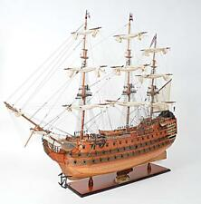 "HMS Victory Most Famous As Admiral Nelson's Flagship Tall Ship 58"" Wooden Model"