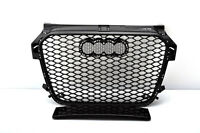 FRONT GRILL Look RS1 BLACK FOR AUDI A1 8X 2010-14 Wabengrill Grille Stoßstange