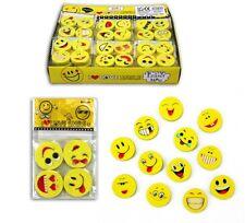 24 x Radiergummi Lachgesichter - Radierer Smile Smiley Mitgebsel Tombola