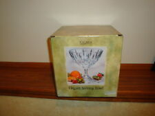 Tuscany Crystal Serving Bowl Muirfield Series in Box
