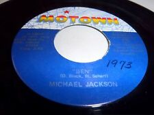 MICHAEL JACKSON-BEN/YOU CAN CRY ON MY SHOULDER MOTOWN 1207F NM 45