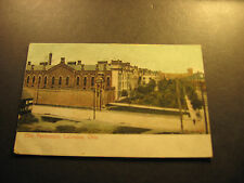 Ohio Penitentiary, Columbus, Oh., used postcard, about 1908