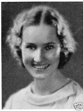 1933 Brookline MA Posse Nissen Girls School Yearbook~Photos~History~Sports~Ads++