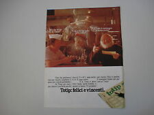 advertising Pubblicità 1981 TOTIP