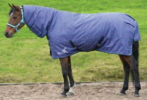 """NEW ** MASTA ** 340 HEAVY FIXED NECK SPACE DYE TURNOUT RUG 7'3""""- MR300"""