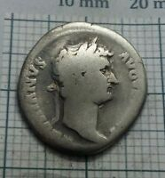 ROMAN imp. Hadrian 117-138 AD. Original Antique Coin SILVER AR Denarius #0257