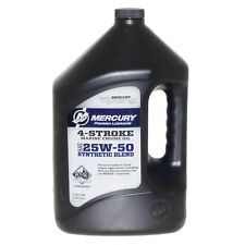 Verado Oil 1 Gallon 25w50  Verado Synthetic Blend 3 per Case 8M0078014