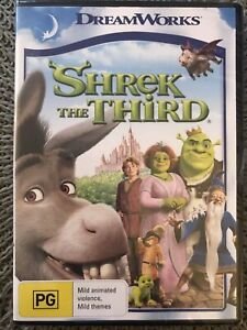Shrek The Third ~ Brand New And Sealed ~ Free Postage