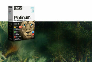 Nero Platinum 2019 - 6 in 1 - Lifetime for PC Only - 1 PER PERSON ONLY