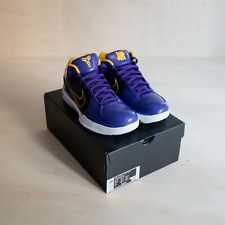 Nike Kobe 4 Protro Undefeated Los Angeles Lakers Size 9.5, DS Brand New