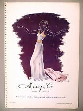 May & Co. Lingerie AND Confectiefabriek Bugo PRINT AD - 1947