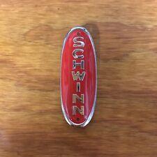 SCHWINN HEAD BADGE RED HORNET PHANTOM PANTHER HORNET WASP 1950S BIKES & OTHERS
