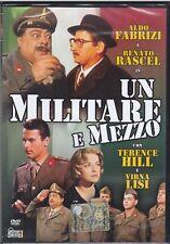 Dvd UN MILITARE E MEZZO di Steno con Renato Rascel Aldo Fabrizi Terence Hill