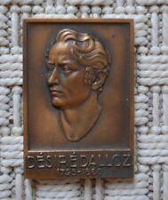 Médaille en Bronze - Désiré Dalloz - Jurisprudence Générale Dalloz - 1945