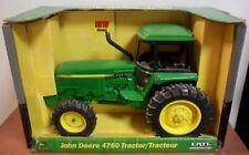 JOHN DEERE 4760 Ertl 15349, 1/16 Die Cast Tractor Toy, In Original Packaging