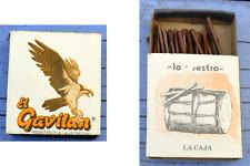 Boîte d'allumettes El Gavilan, La Caja