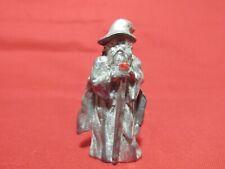 Pewter Fantasy Wizard With Austrian Crystal Figurine
