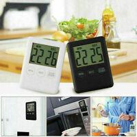 Digitaler Kurzzeitmesser Timer Küchenwecker Stoppuhr mit Magnet Eieruhr Teetimer