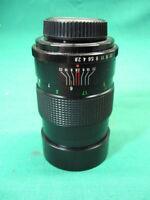 Vintage Vivitar 135mm 1:28 Camera Lens AutoTelephoto Guaranteed