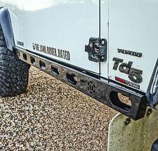 Land Rover Defender Fully Stainless Steel Hurricane Rock Sliders - Uproar 4x4