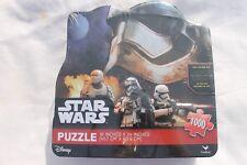 Star Wars The Force Awakens Storm Trooper 1000 piece puzzle. Tin storage - NEW