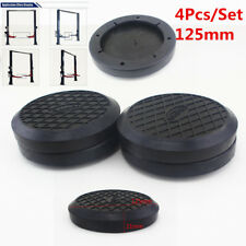 4Pcs 125mmX21mm Round Rubber Arm Pads lift  fit For Auto Lift Car Truck Hoist