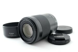 Canon EF-M 55-200mm F/4.5-6.3 IS STM Zoom Lens w/Hood For EOS m Tested #7554