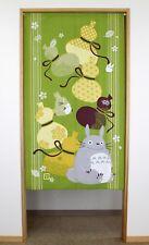 Studio Ghibuli Totoro Noren Curtain Tapestry HAPPY HYOUTAN MDDE IN JAPAN