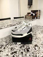 "Air Jordan Retro 3 ""Chlorophyll"" Mens Size 12"
