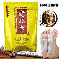 50pcs Detox Foot Pads Patch Detoxify Toxins Adhesive Keeping Fit Health Care